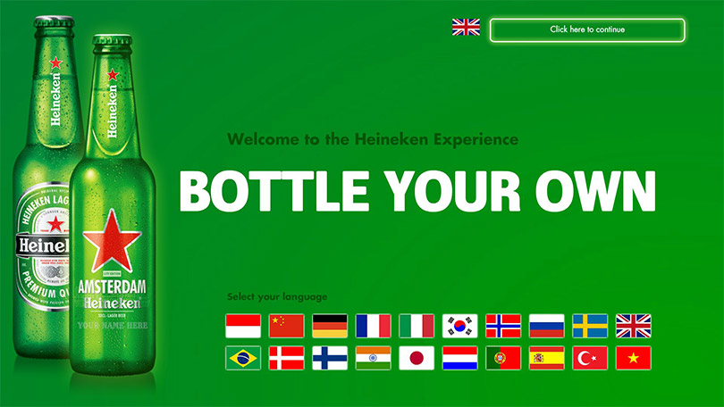 Heineken Custom Software Omnitapps