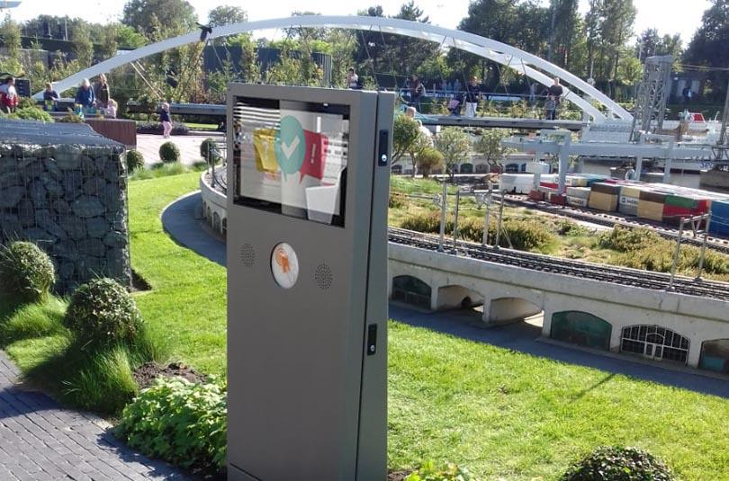 Prestop outdoor kiosks for Madurodam