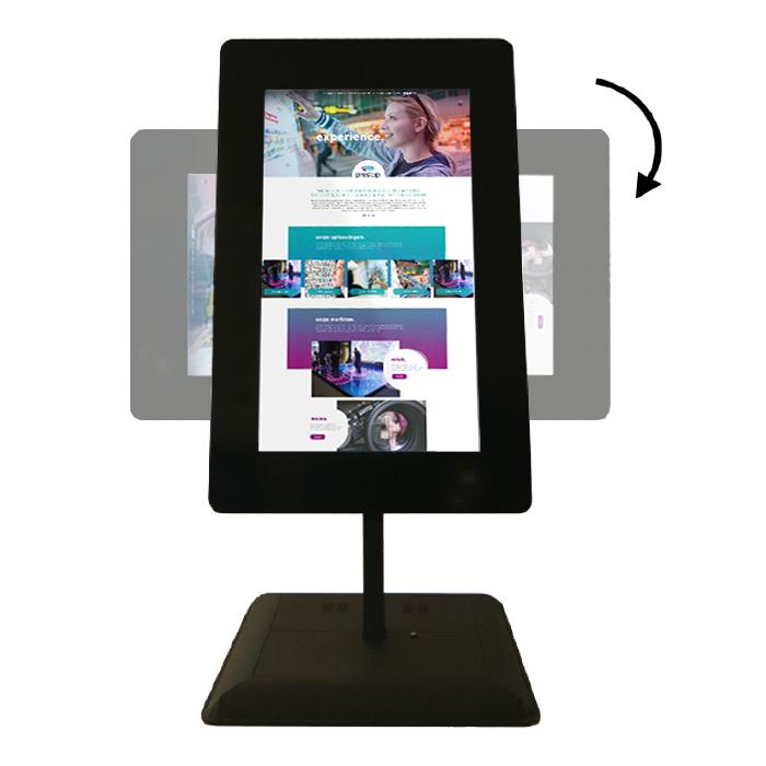 Rental information kiosks Giant Tablet
