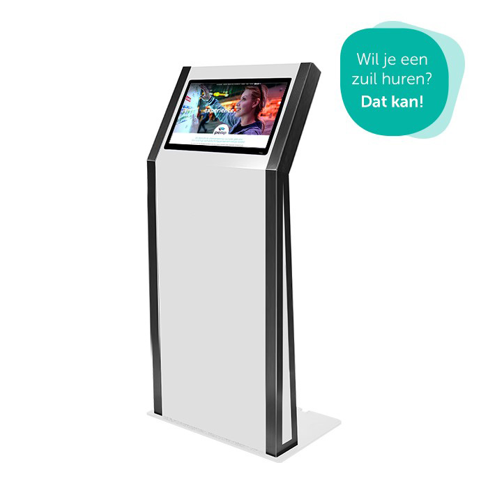 Prestop rental information kiosks