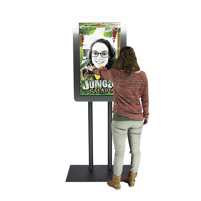 Rental information kiosks Selfie Totem