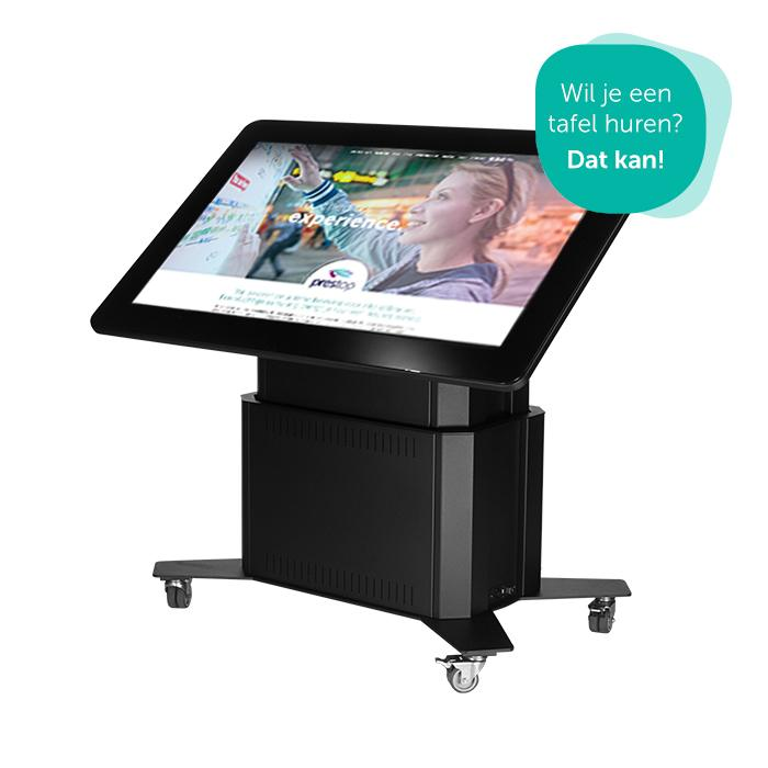 Prestop touch tables for rent