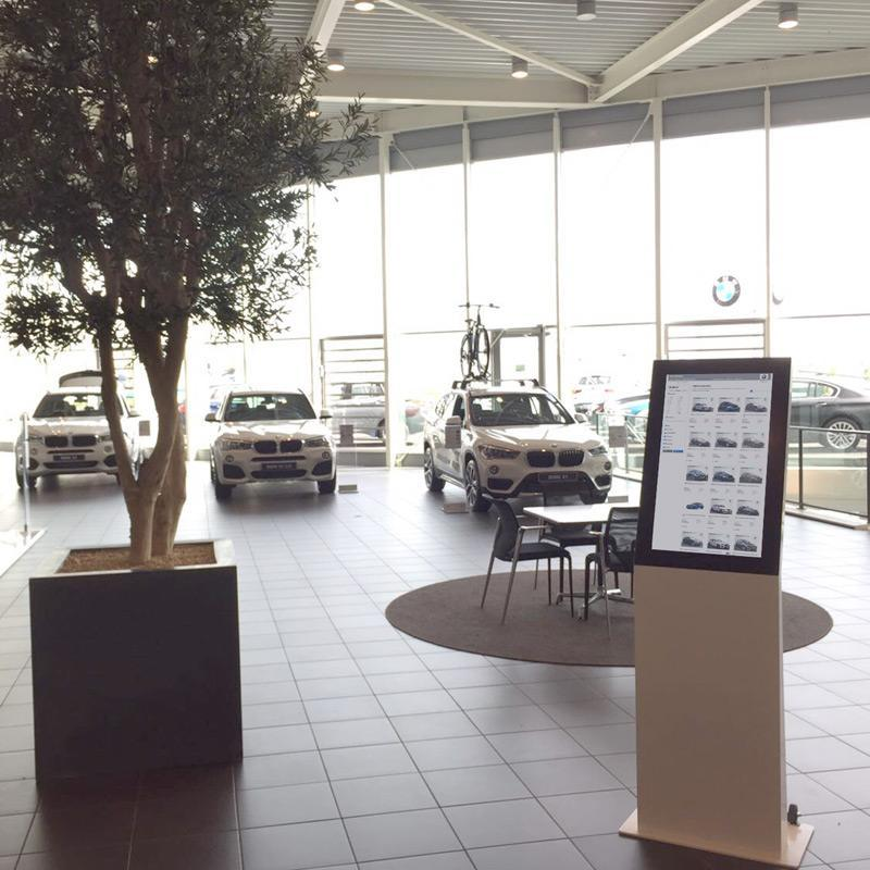 BMW Breeman information kiosk