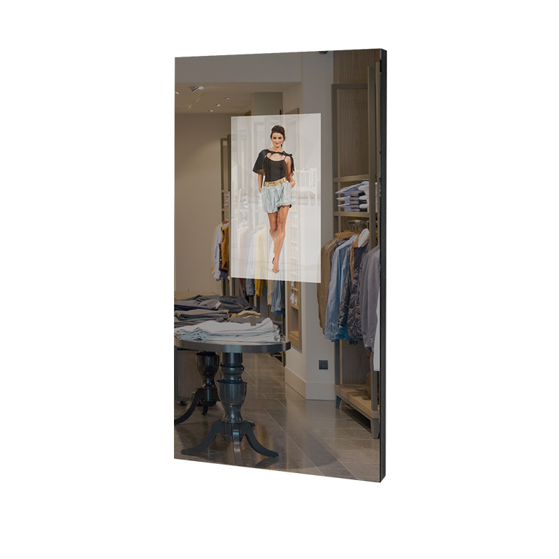 Prestop wall model interactive mirror