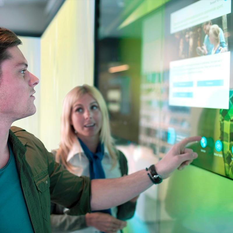 KPN touch video walls case