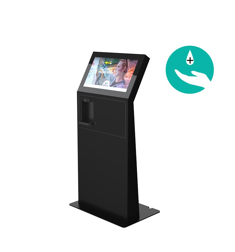 "Kiosk Eminent M 24"" L Disinfection Black"