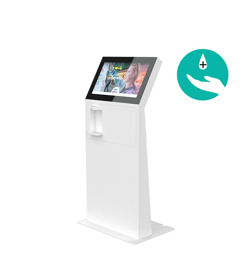 "Kiosk Eminent M 24"" L Disinfection Kopie"