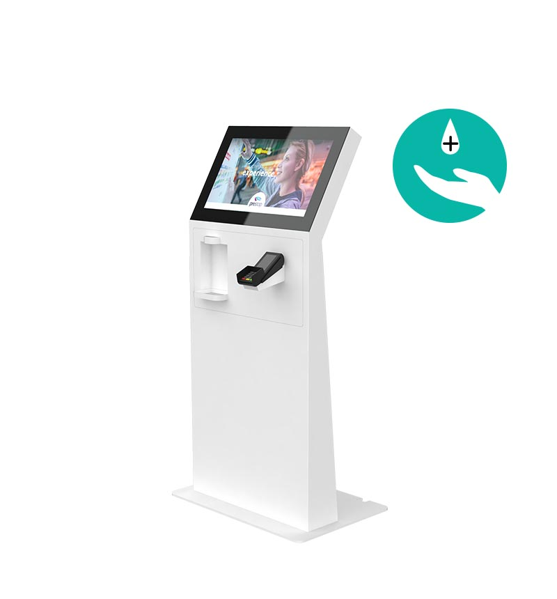 "Kiosk Eminent M 24"" L PAY Disinfection"