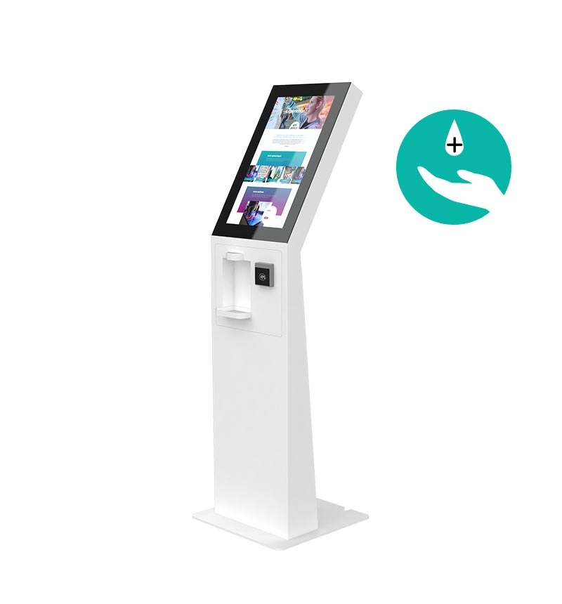 "Kiosk Eminent 24""P M PAY C Disinfection"