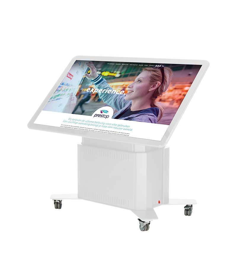 """Smart Touch Table Eminent 65"""" 4K White"""