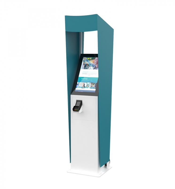 Outdoor self-service kiosk