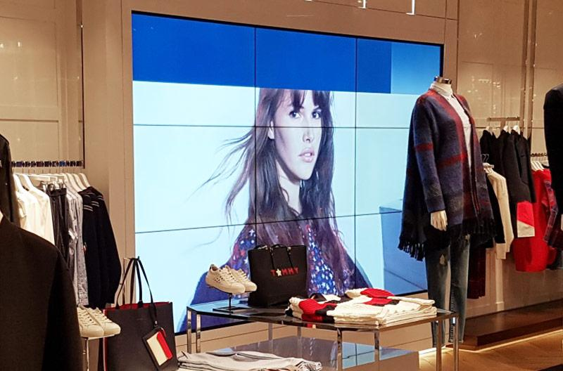 Video wall Tommy Hilfiger
