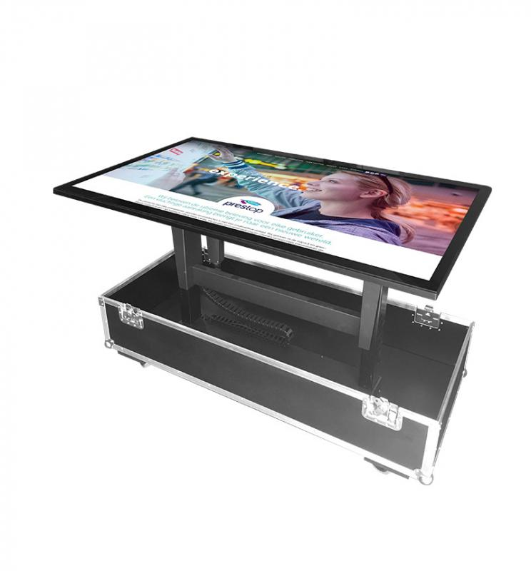 "Flightcase for 55"" display"