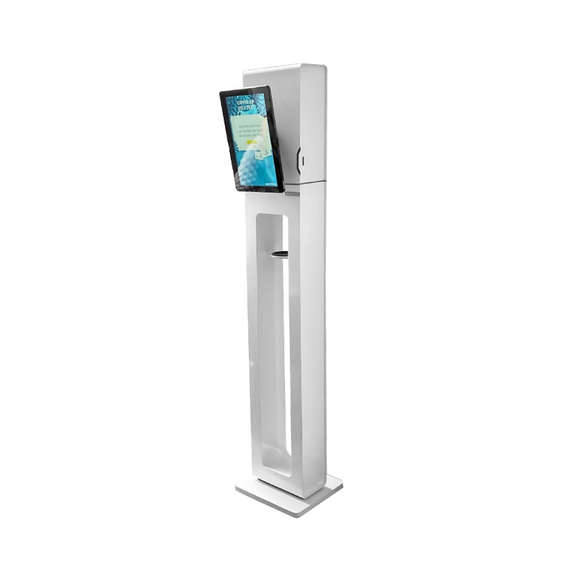 "Modular 10""-13"" (touch)screen & Gel dispenser"