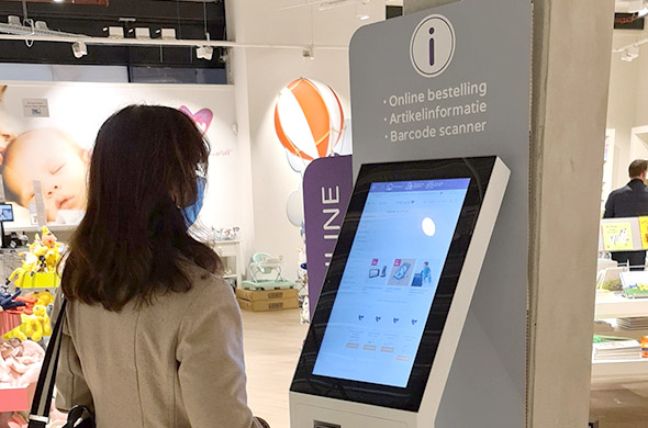 Prenatal order kiosks are used very intensively!