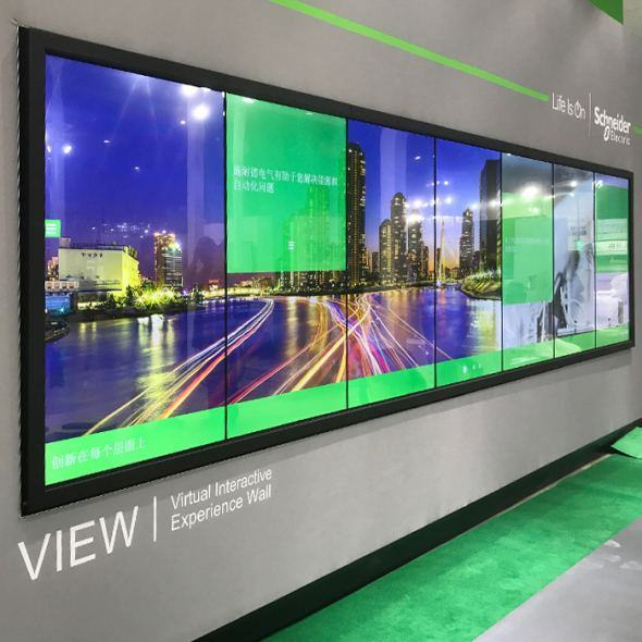 Touch Video Walls