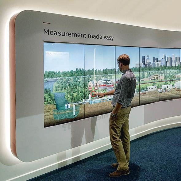 Video Wall Touchscreens