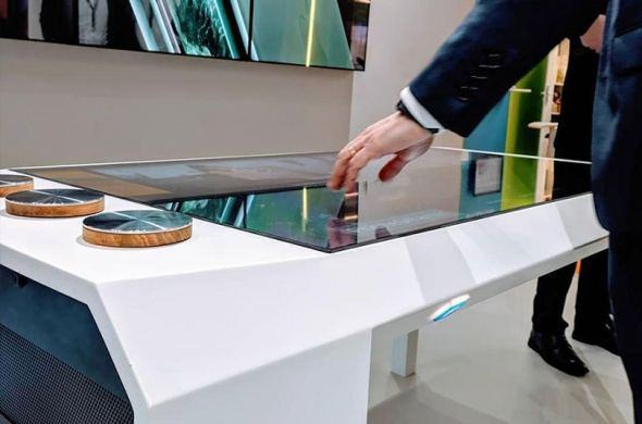 New! Our Object Recognition Touch Table