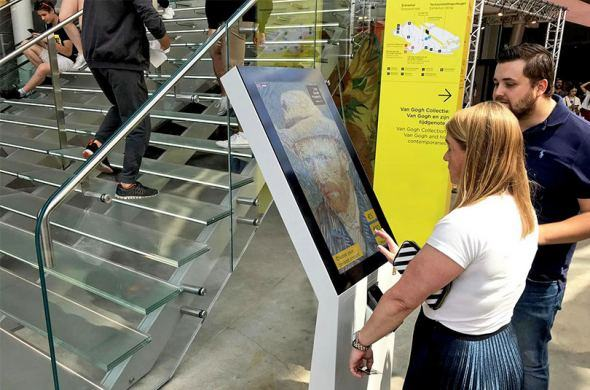 Prestop supplies the Van Gogh Museum with donation kiosks