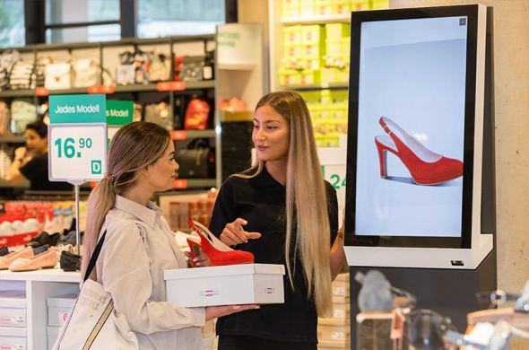 Prestop supplies Deichmann in Germany with order kiosks