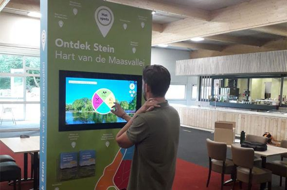 Municipality of Stein now has Prestop touchscreens and Omnitapps to help people discover South Limburg.