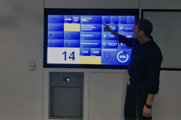 Another 10 touchscreens for operating rooms in Dutch hospitals