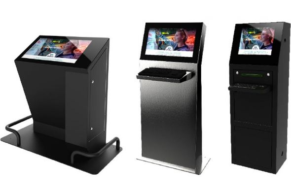 Industrial Kiosk: an innovative touchscreen solution for production environments
