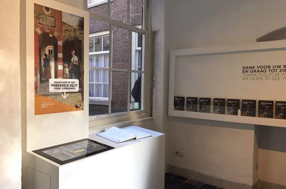 Touchscreen with Omnitapps for Museum Prinsenhof Delft