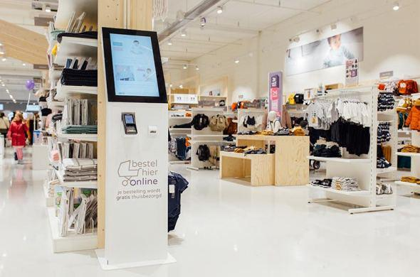 Order kiosks will soon be available in every Prénatal store in the Netherlands
