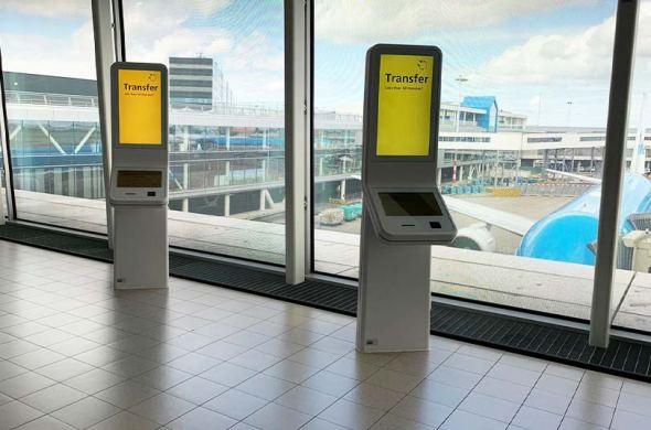 Schiphol Airport has inaugurated new kiosks of Prestop!