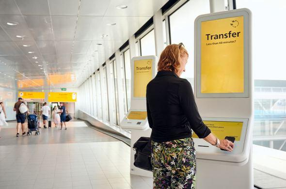 Schiphol launches service for transfer passengers