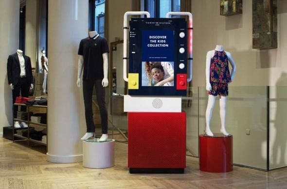 More conversion with Tommy Hilfiger Kids Kiosk