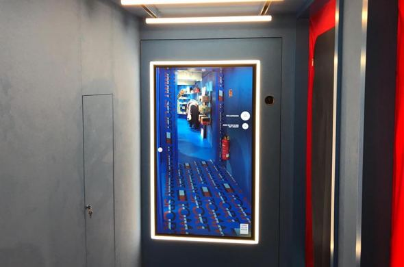 Tommy Hilfiger flagship store in Düsseldorf with touchscreens from Prestop