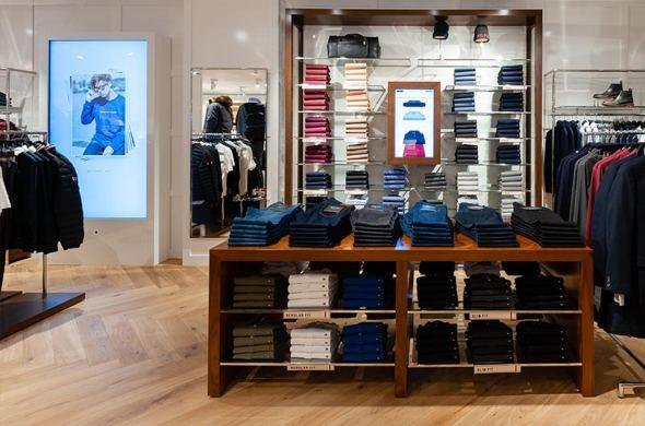 Prestop has been supplying touchscreen solutions to Tommy Hilfiger for 3 years