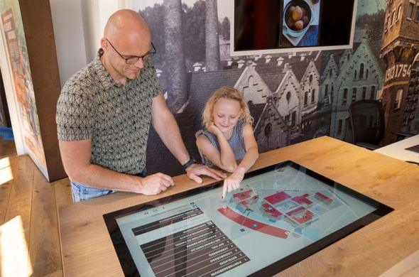 Tourist Information Point Ulft now also has touchscreens